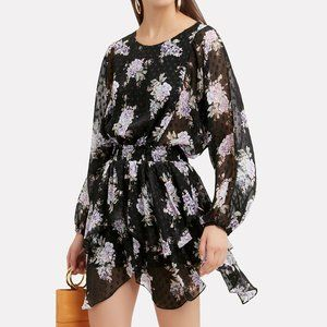 Loveshackfancy Kaia dress Silk floral S
